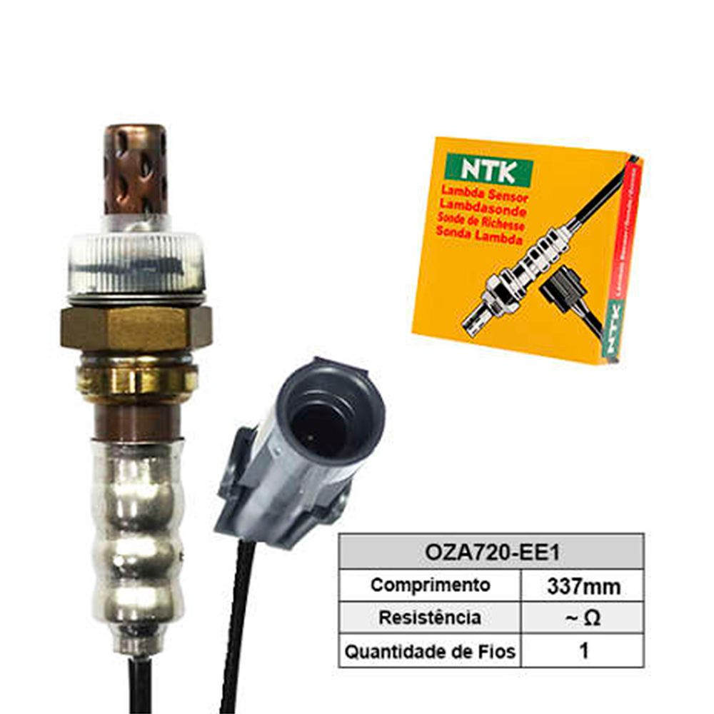 Sensor de Oxigenio Sonda Lambda - Celta 2000 a 2005 / Corsa 1994 a 2005 / Meriva 2003 a 2010 - Oza720-Ee1  - Conexao Brasil Autopeças