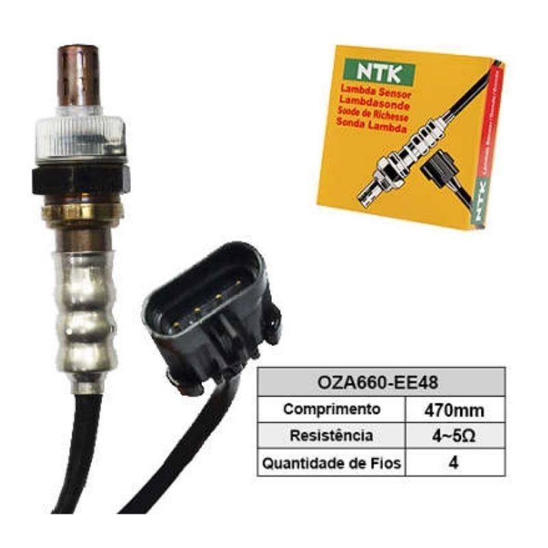 Sensor de Oxigenio Sonda Lambda - Celta 2006 a 2009 / Corsa 2006 a 2009 / Prisma 2006 a 2009 - Oza660-Ee48  - Conexao Brasil Autopeças