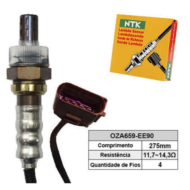 Sensor de Oxigenio Sonda Lambda - Fox 2008 a 2012 / Gol 2008 a 2015 / Saveiro 2010 a 2012 / Space Cross 2012 a 2015 / Voyage 2008 a 2010 - Oza659-Ee90  - Conexao Brasil Autopeças