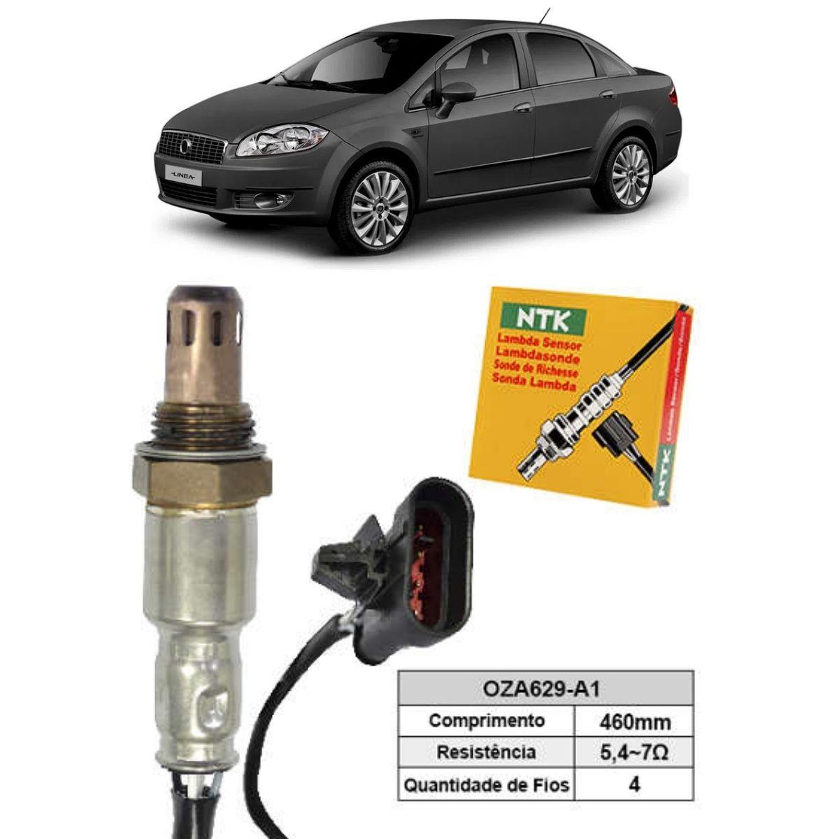 Sensor de Oxigenio Sonda Lambda - Linea 2009 a 2010 - Oza629-A1  - Conexao Brasil Autopeças
