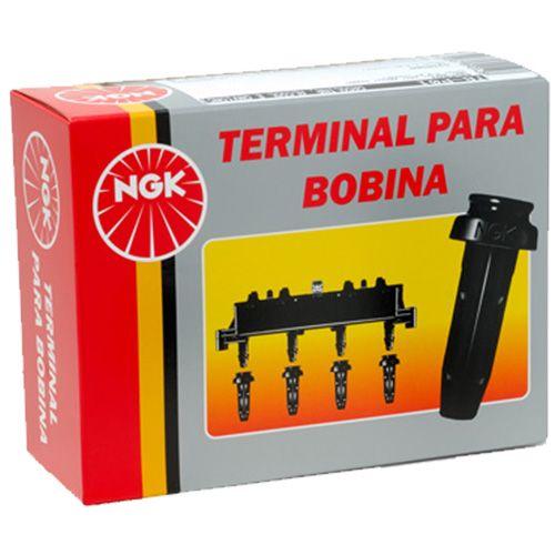 Terminal Bobina - C3 2006>2010 / C30 2007>2010 / Hoggar 2011>2013 / Peugeot 206 2005>2012 / Peugeot 207 2008>2012  - Conexao Brasil Autopeças