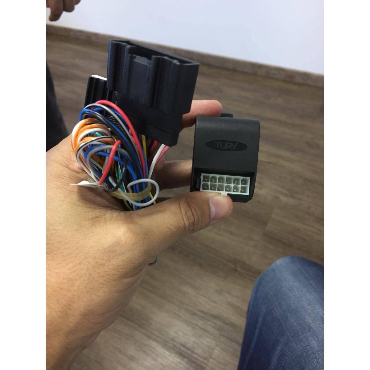 Modulo de Rebatimento de espelho Retrovisor Elantra 2016 Conector Original