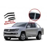 Calha de chuva Amarok 4 portas Volkswagen