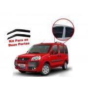 Calha de chuva Doblo 01 15 2 portas Fiat