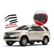 Calha de chuva Hilux SW4 05/15 4 portas Toyota