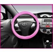 Capa para volante Estampa Rosa