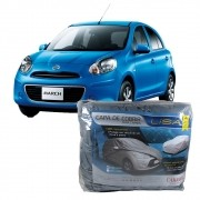 Capa Protetora Nissan March Forrada Impermeável (P295)