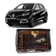 Capa Couro cobrir Renault Captur Impermeável Forrada (XG312)