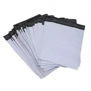 Embalagem Plástica com Lacre de Segurança 12x18cm Branco