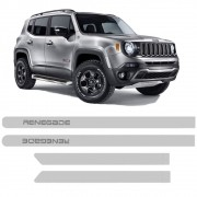 Friso Lateral Jeep Renegade Pintado