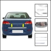 Friso Porta Malas Cromado New Fiesta Sedan 14/17 Resinado