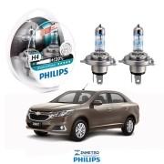 Lâmpadas Farol GM Cobalt 2016 em diante Philips H4 XtremeVision