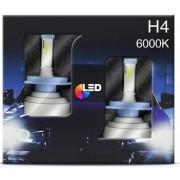 Lâmpadas LED Farol Fiat Tipo H4 6000k