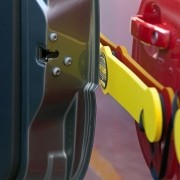 Protetor de Porta Magnético Longo 4 pçs