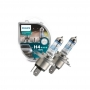 Par de Lâmpadas Farol Ford Ranger Philips H4 XtremeVision 150% + Luz