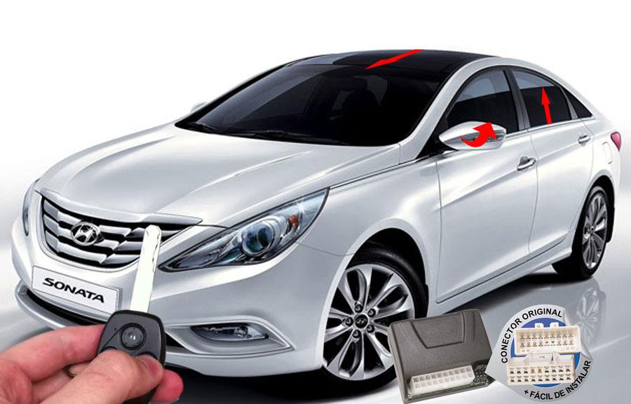 Módulo Conforto Sonata Hyundai (Vidro Teto Espelhos)- ORIGINAL