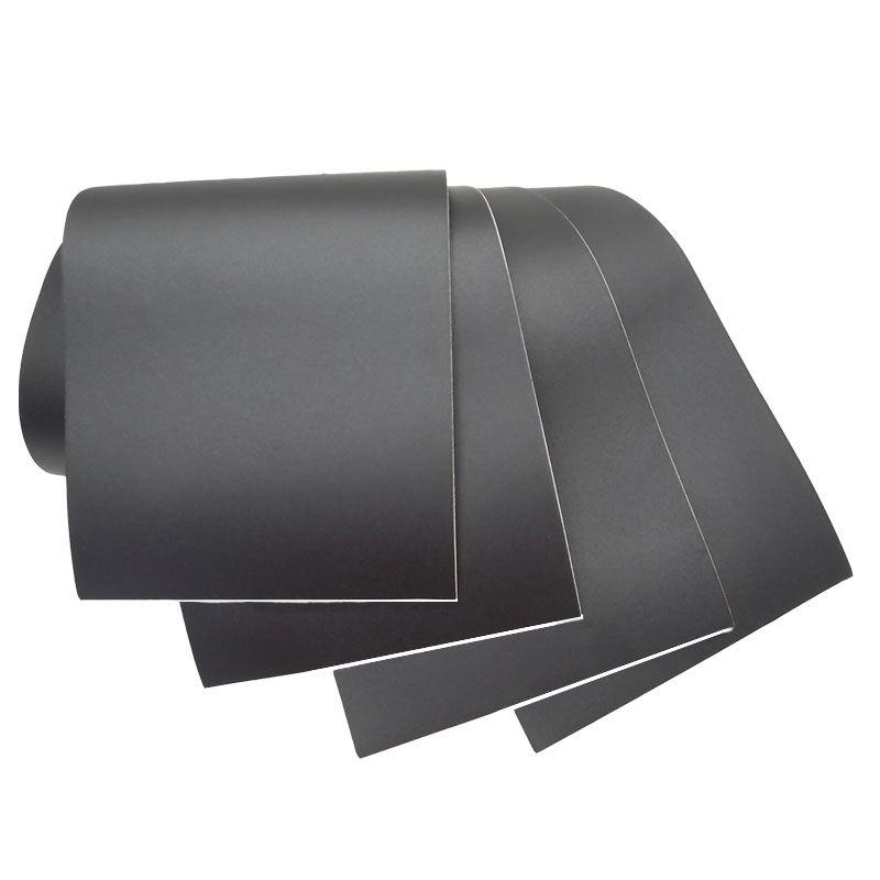 Adesivo Blackout Zafira p/ Coluna de Porta Preto Fosco Poroso