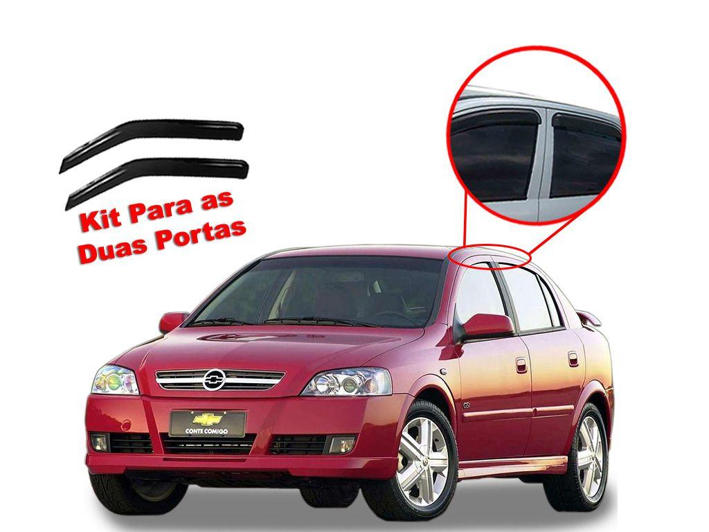 Calha de chuva Astra 2 portas Chevrolet