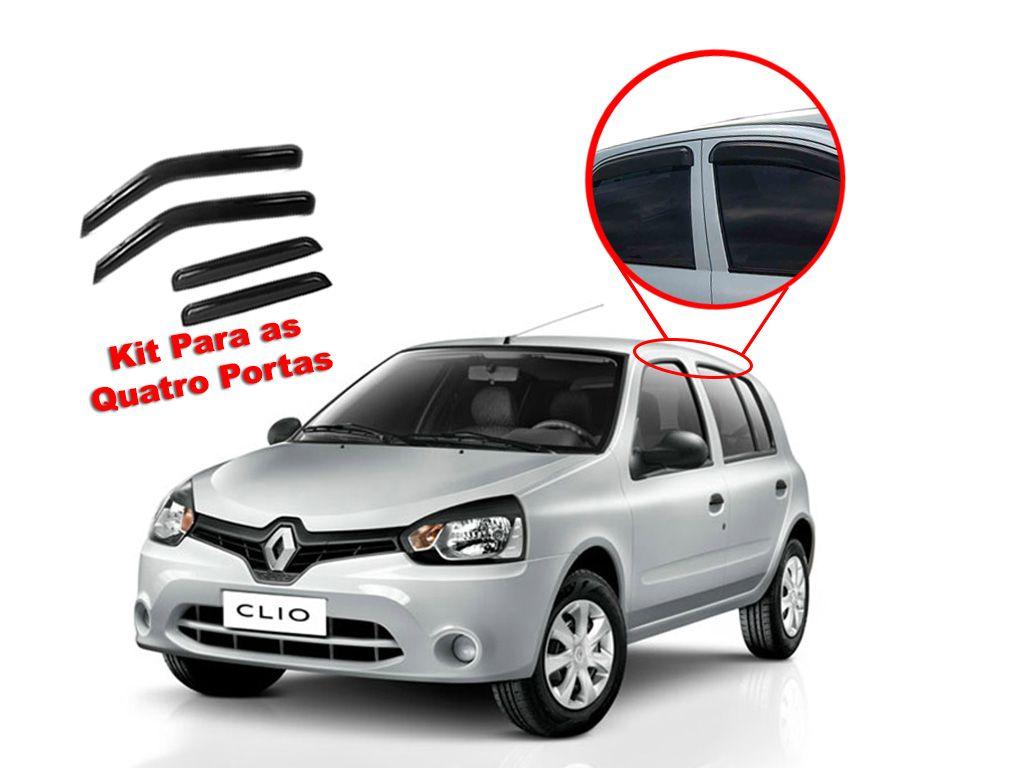 Calha de chuva Clio 00/15 4 portas Renault