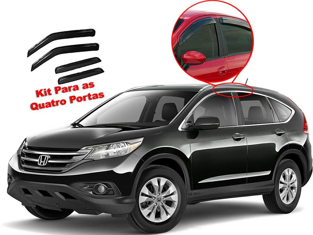 Calha de chuva CR-V 12/15 4 portas Honda