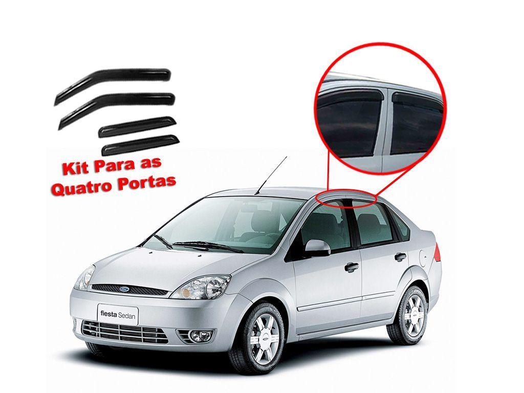 Calha de chuva Fiesta Sedan 02/11 4 portas Ford