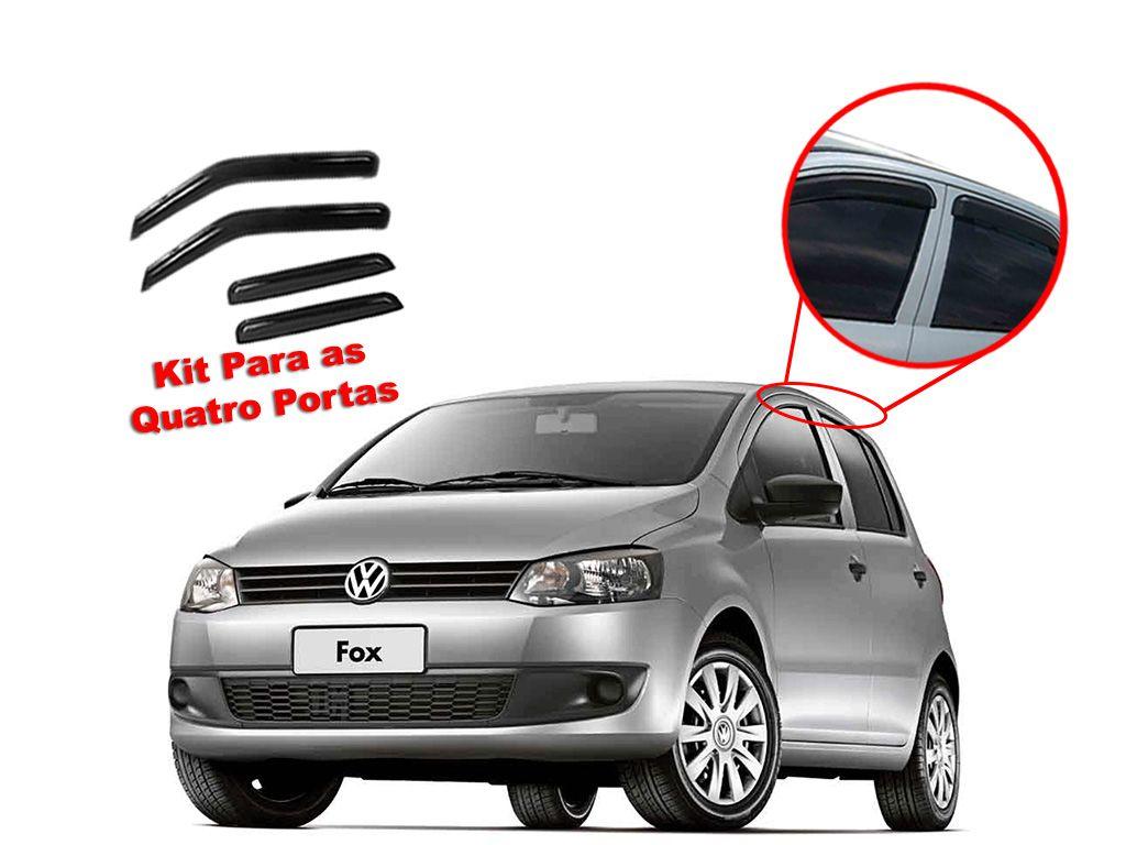 Calha de chuva Fox 04/15 4 portas Volkswagen