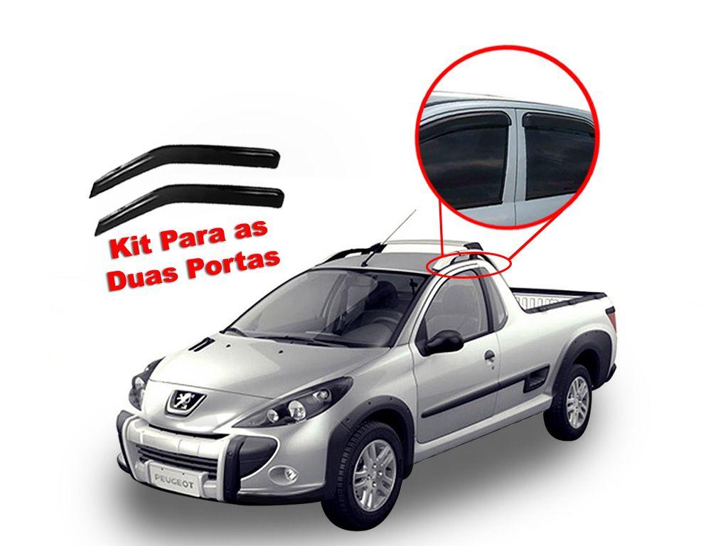 Calha de chuva Peugeot Hoggar 2 portas  10 - 14