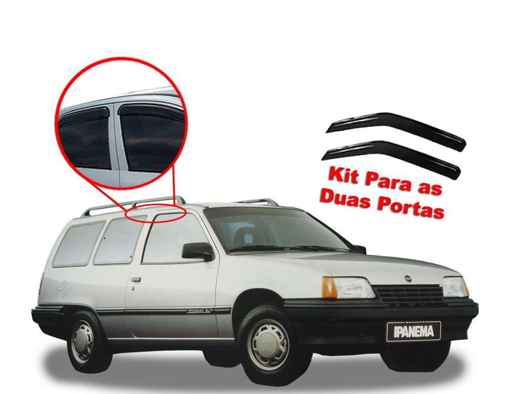 Calha de chuva Ipanema 88/98 portas Chevrolet