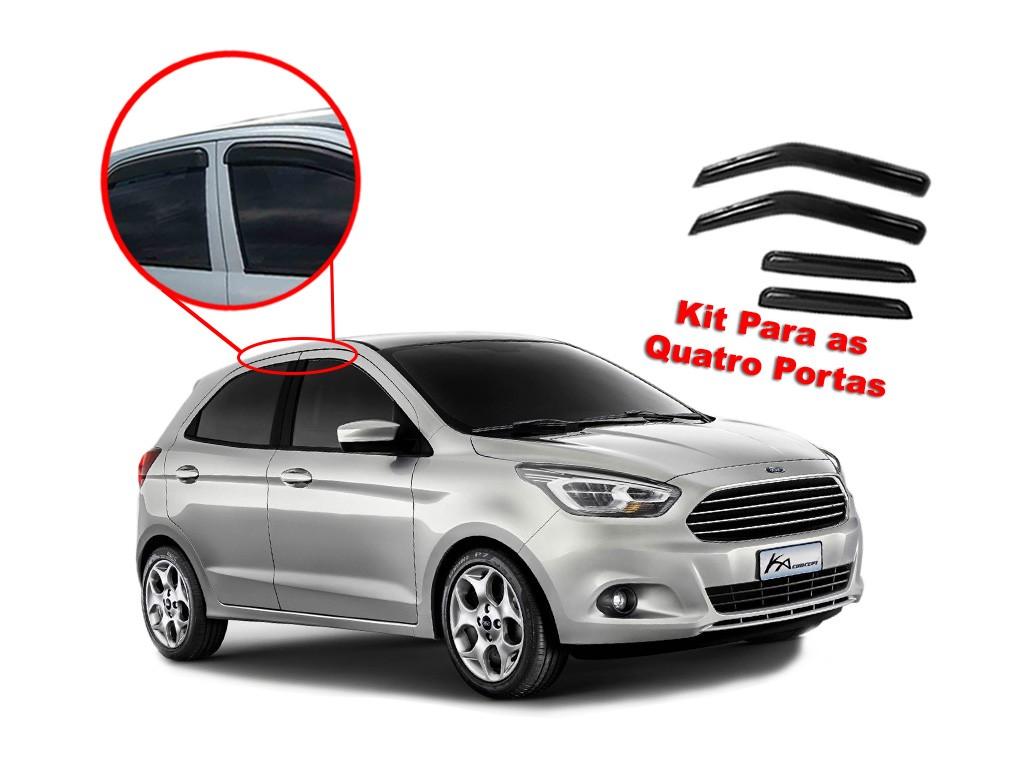 Calha de chuva Ka 2015 - 2019 Hatch 4 portas Ford
