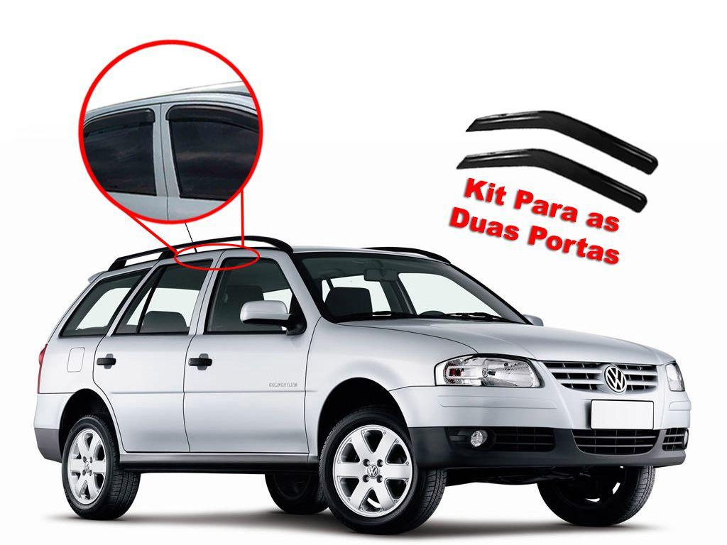 Calha de chuva Parati G2, G3, G4 2 portas Volkswagen