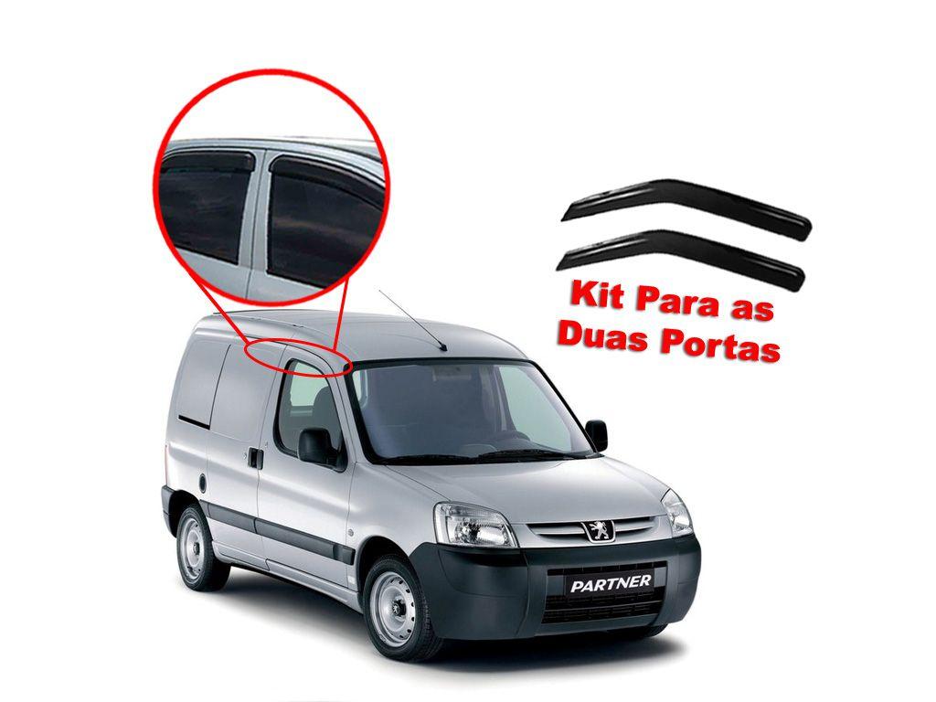 Calha de chuva Partner 00/14 2 portas Peugeot