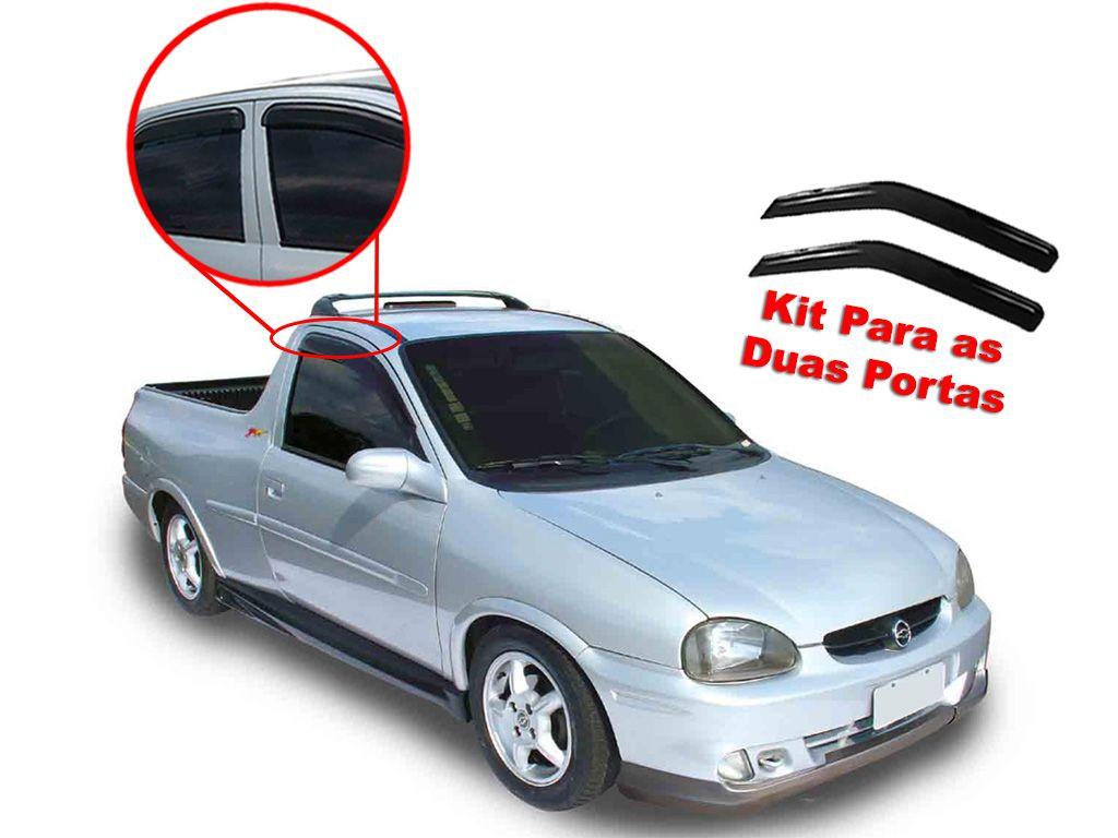 Calha de chuva Pickup Corsa 1994-2003 Chevrolet