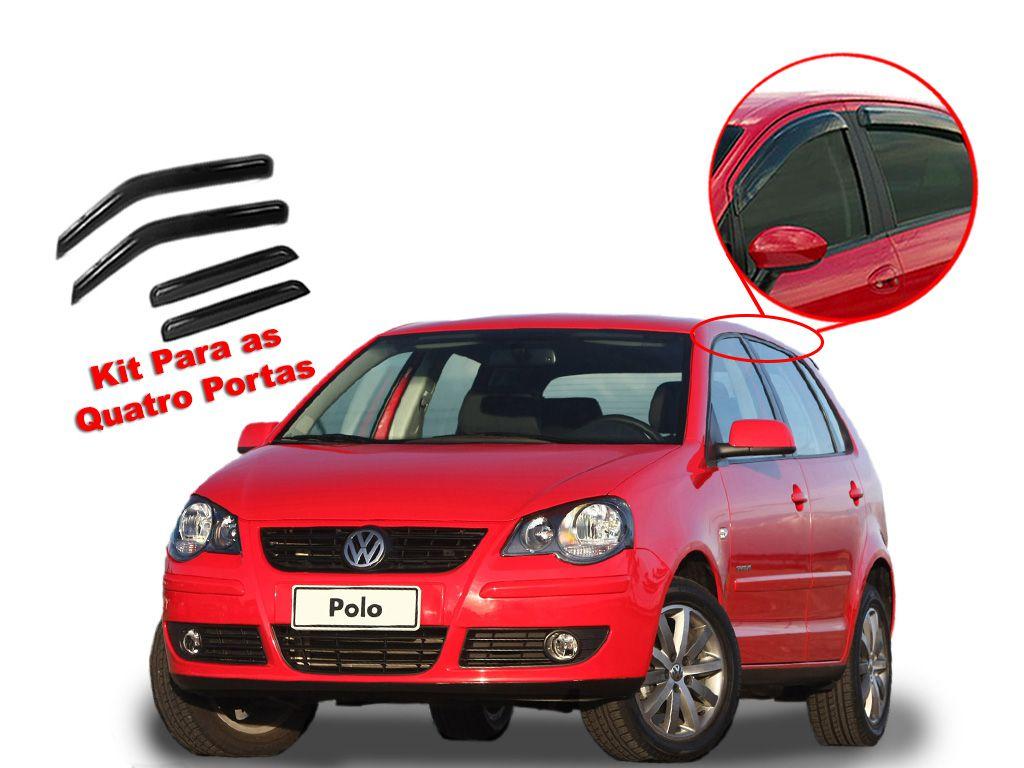 Calha de chuva Polo Hatch 2 portas Volkswagen