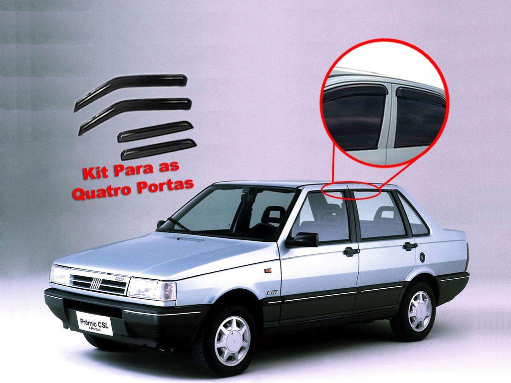 Calha de chuva Premio 85/10 4 portas Fiat