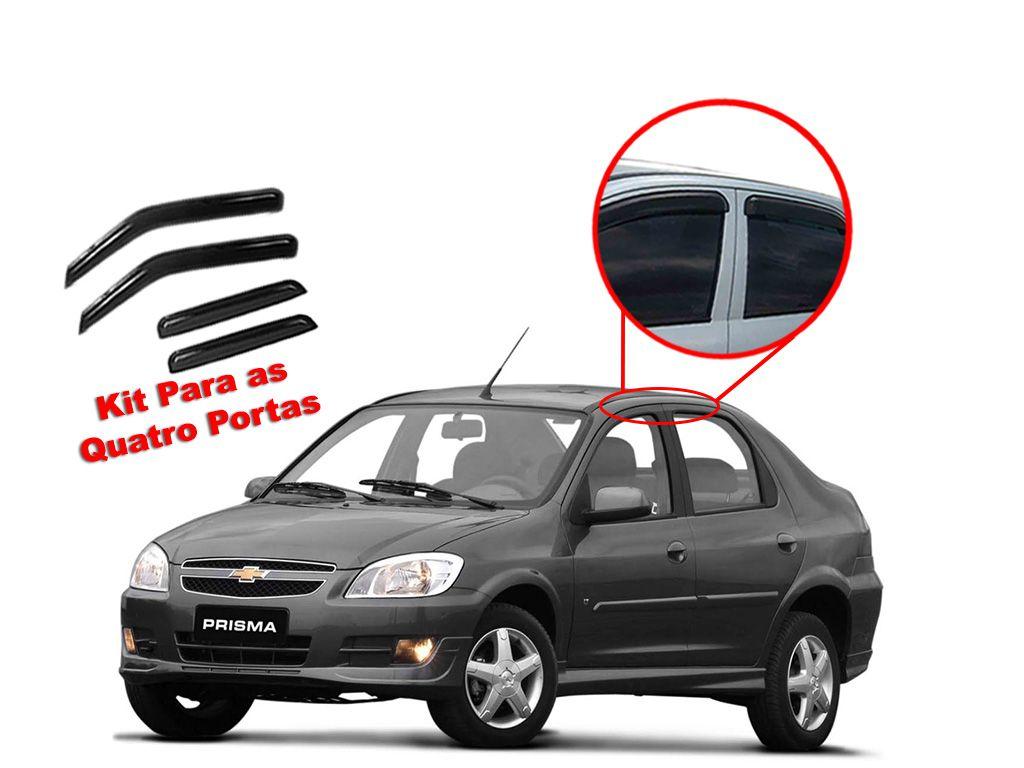Calha de chuva Prisma 2006-2010 Chevrolet