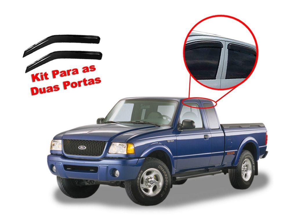Calha de chuva Ranger 96/12 Cab. Simples Ford