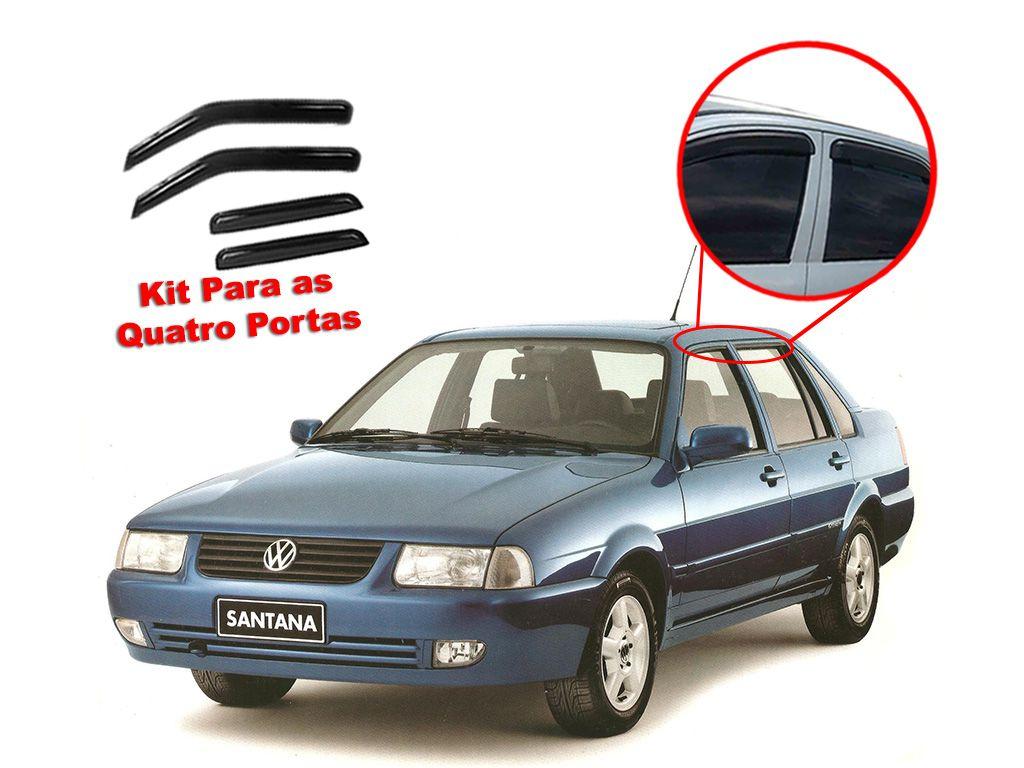 Calha de chuva Santana 92-98 4 portas Volkswagen