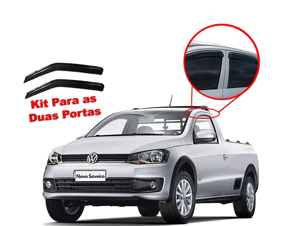 Calha de chuva Saveiro G2, G3 G4 Volkswagen