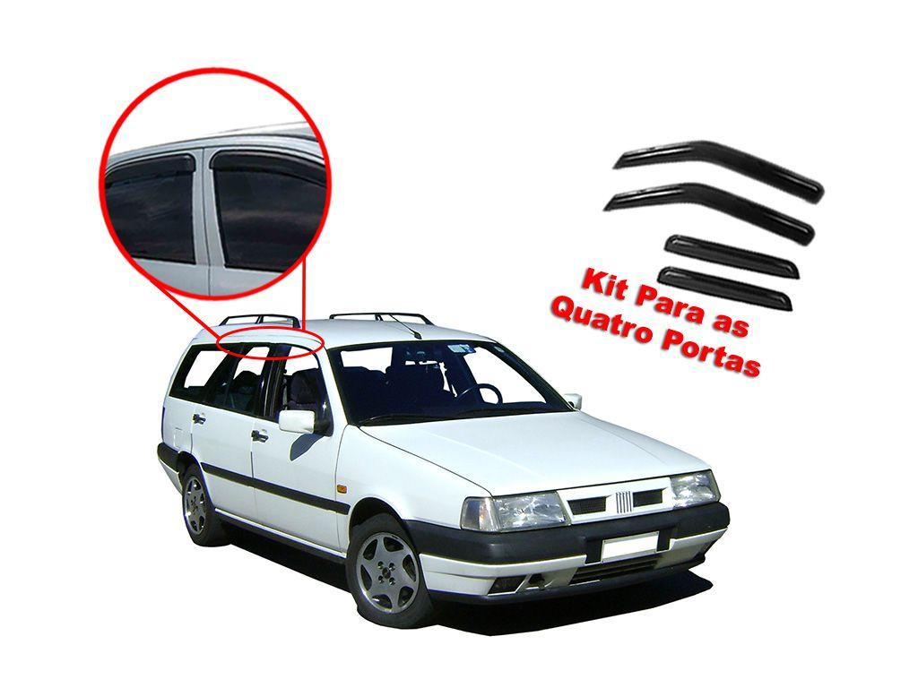 Calha de chuva Tempra SW 4 portas Fiat 92/99