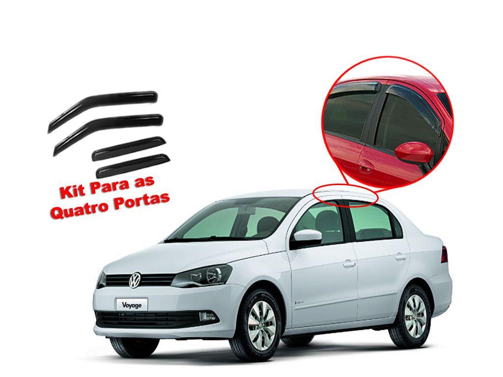 Calha de chuva Voyage G5 2 portas Volkswagen