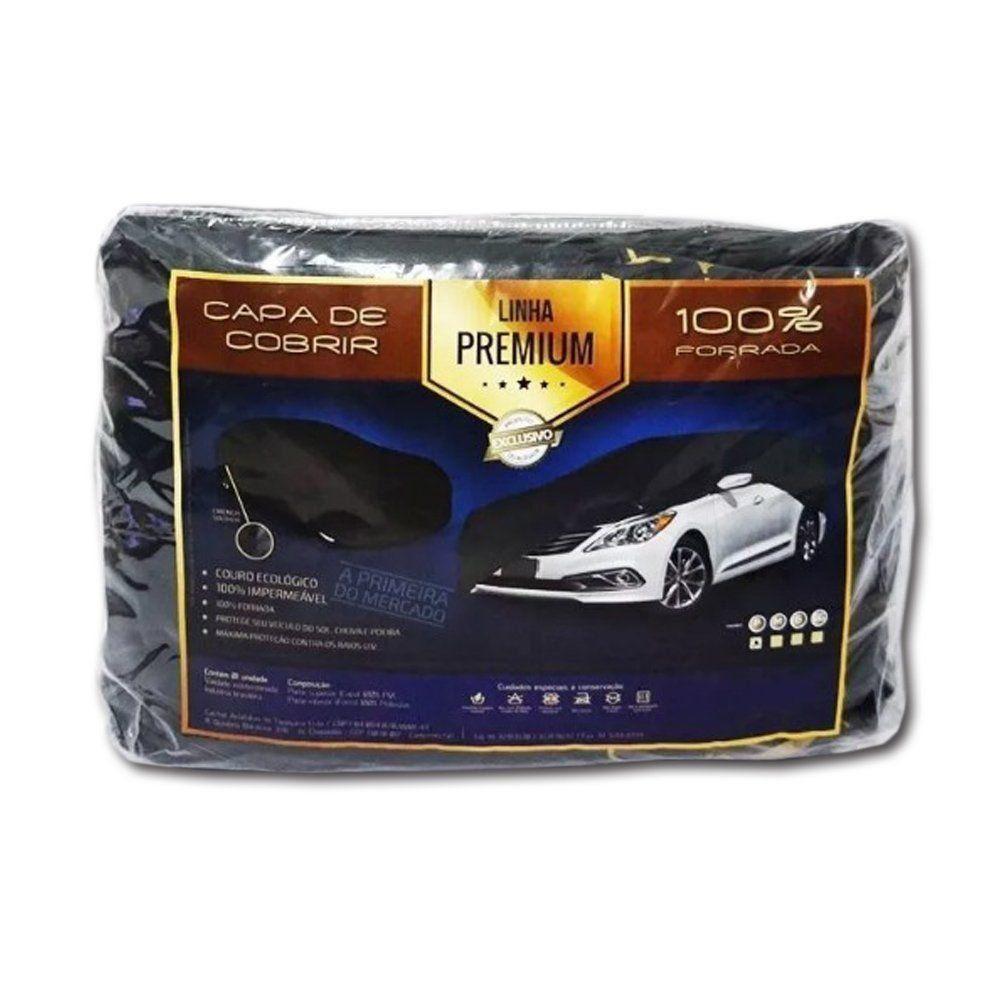 Capa Couro cobrir Chevrolet Omega Impermeável Forrada (GG311)