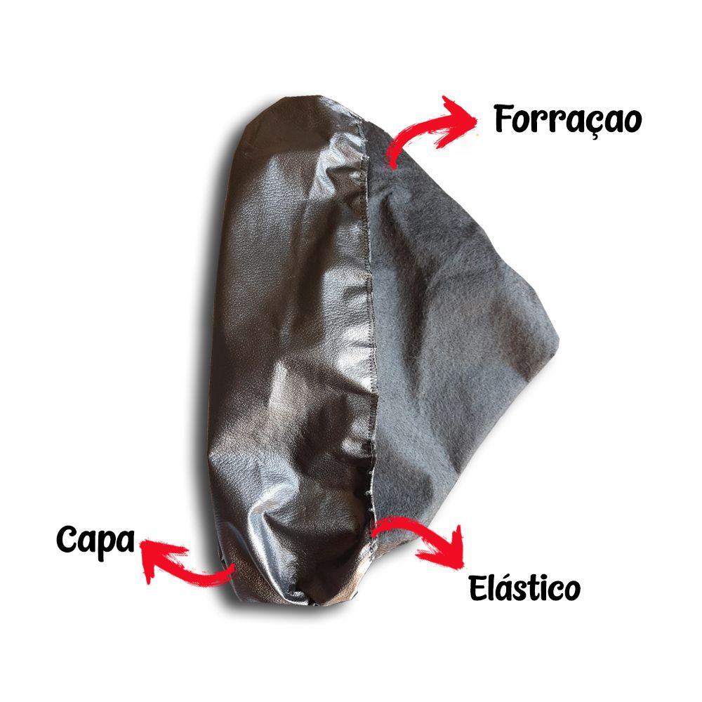 Capa Couro cobrir de Carro Impermeável Forrada Tam M (M309)