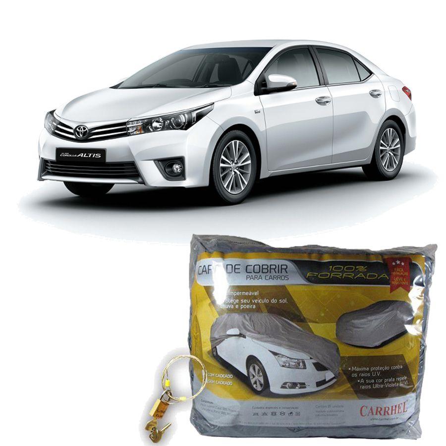 Capa Protetora Toyota  Corolla Com Cadeado (G283)