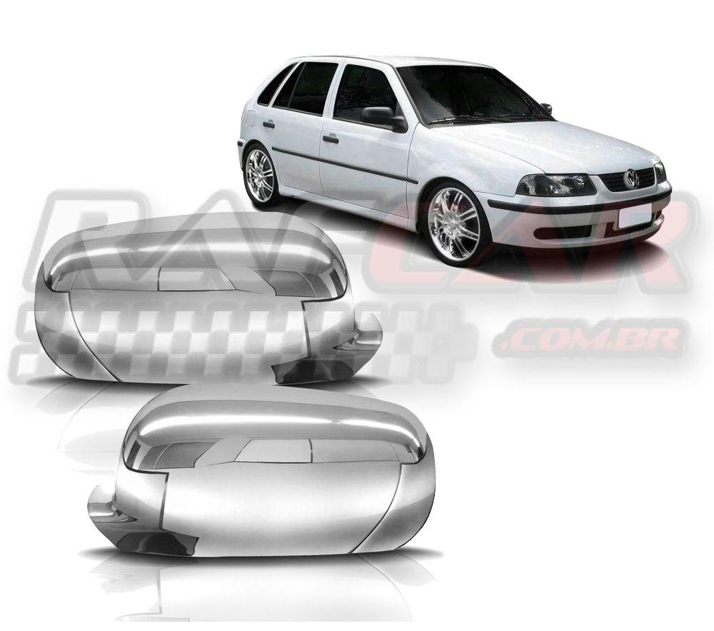 Capa Retrovisor Cromado Gol G3  Volkswagen