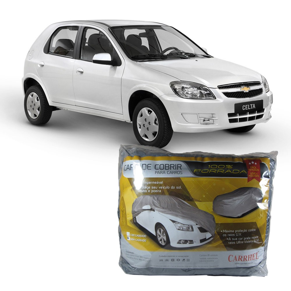 Capa Protetora Chevrolet  Celta Com Forro Total (P286)