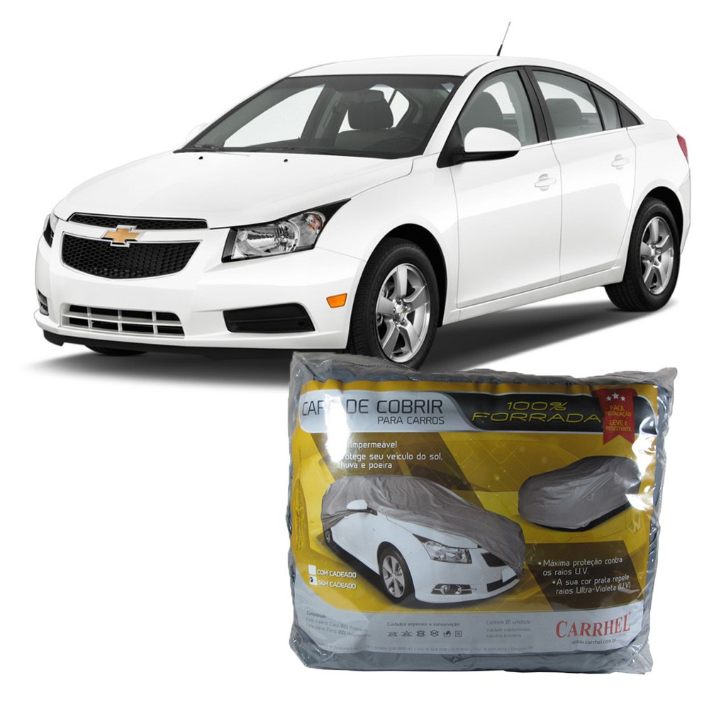 Capa Protetora Chevrolet  Cruze Sedan Com Forro Total (G288)