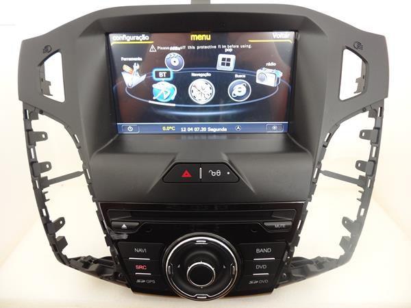 Central Multimídia Ford Focus 2014 2015