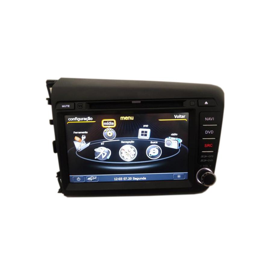 Central Multimídia Honda Civic 2012 13 14 15 16