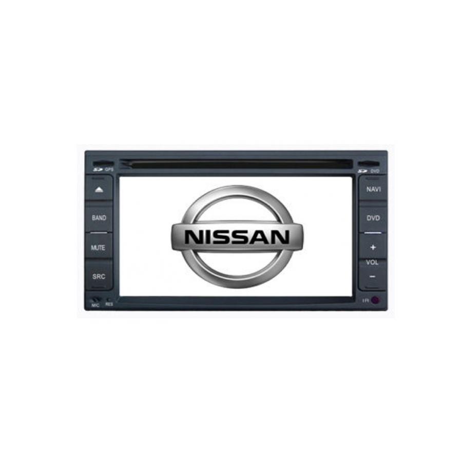 Central multimídia Nissan Tiida