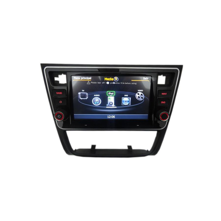 Central multimídia VW Saveiro G6